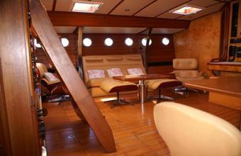 Velero oceanico interiores for Decoracion barcos interiores