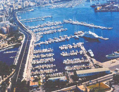 Puerto deportivo club de mar palma de mallorca - Puerto de palma de mallorca ...