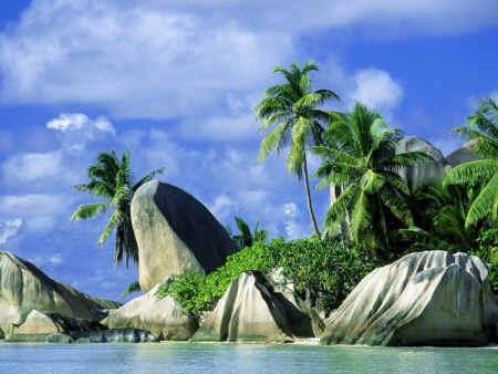 Playas en Seychelles